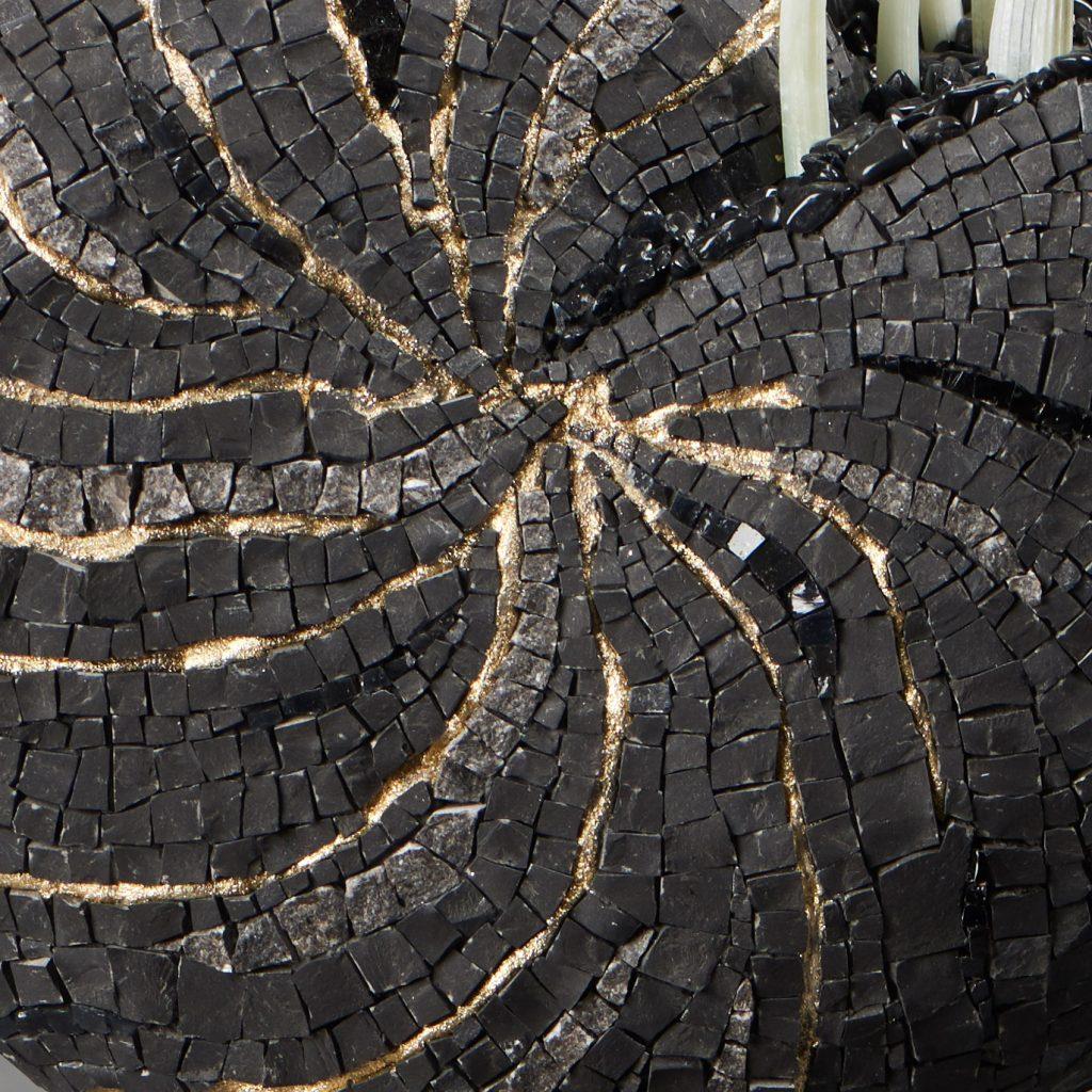 JoVe - MOSAÏQUE : NAUTILE BLACK&WHITE